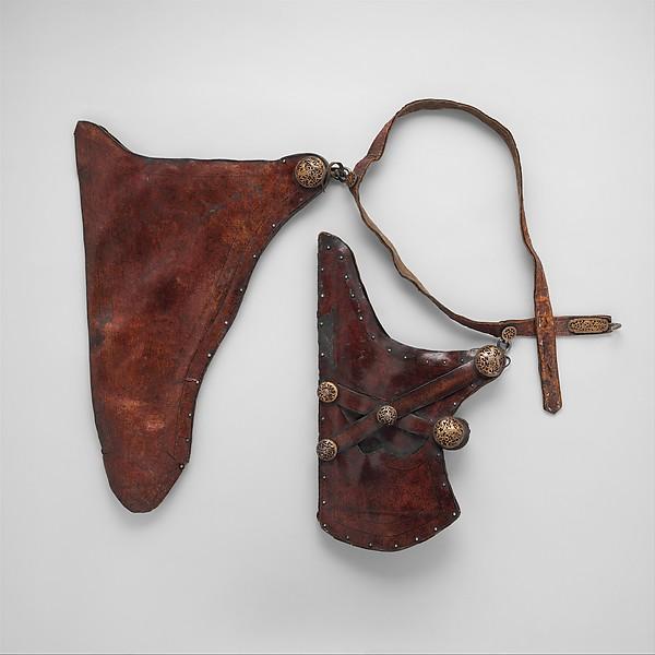 Bow Case, Quiver, and Belt (gzhu shubs dang mda' shubs)