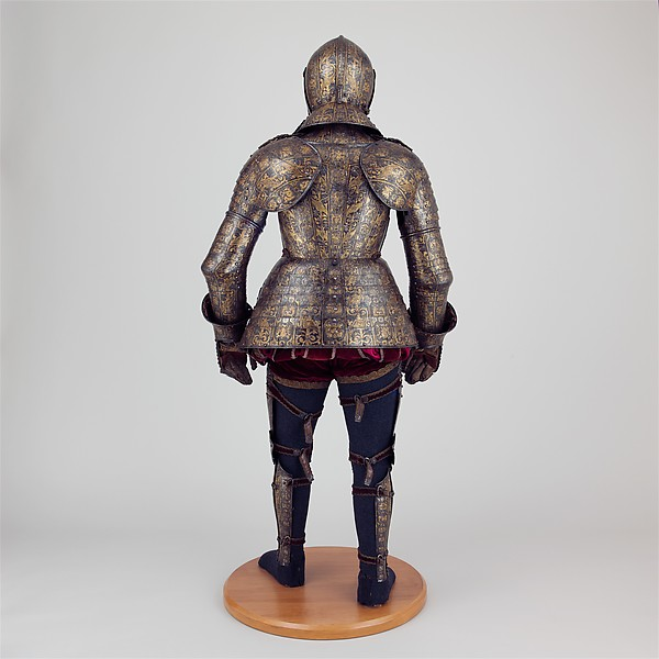 Armor with Matching Shaffron and Saddle Plates