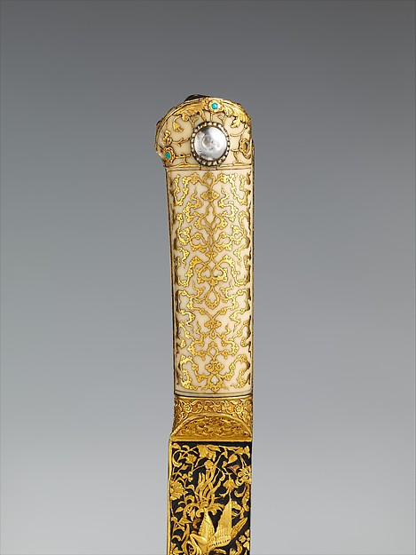 Yataghan from the Court of Süleyman the Magnificent (reigned 1520–66)