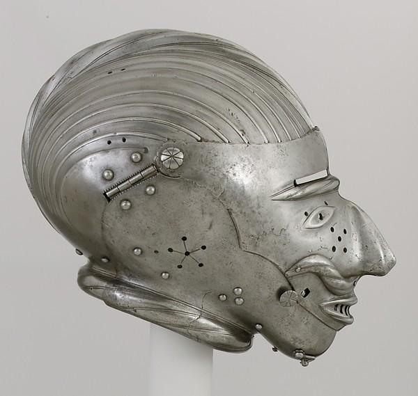 Armet with Mask Visor