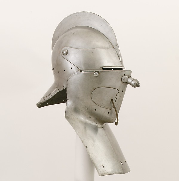 Sallet and Buff for a Rennzeug in the Saxon Fashion