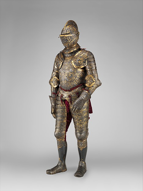 Armor of Henry II of France (reigned 1547–59)