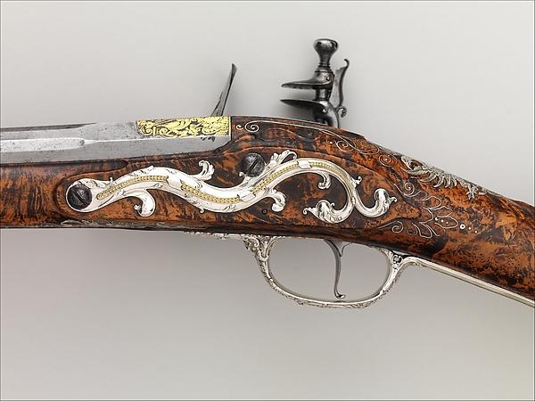 Flintlock Sporting Gun of Empress Margarita Teresa