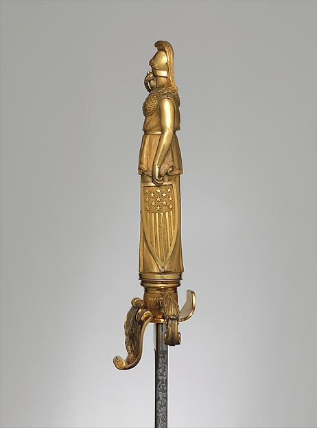 Sword and Scabbard of Captain Richard French