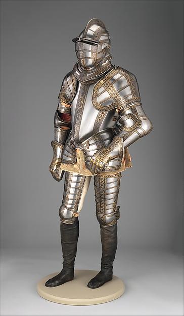 Armor of Sir James Scudamore (1558–1619)