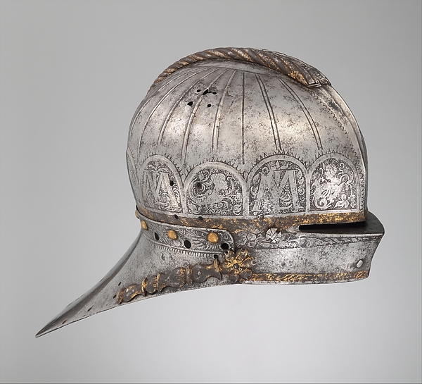 Tournament Sallet Made for Louis II (1506–1526), King of Hungary and Bohemia