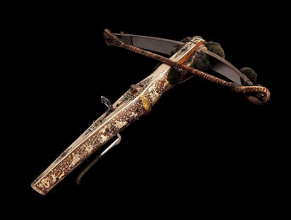 Crossbow (Halbe Rüstung) with Winder (Cranequin)