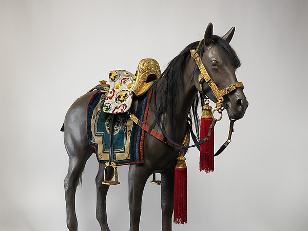 Equestrian Equipment Made for Yuthok Tashi Dundrup (g.yu thog bkra shis don grub, 1906–1983)