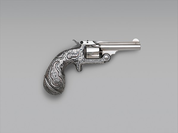 Smith and Wesson .32 Single-Action Revolver, Serial no. 17156