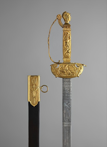 Congressional Presentation Sword and Scabbard of Peleg K. Dunham (1794–1822)