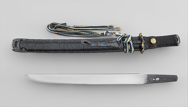 Blade and Mounting for a Dagger (Tantō)