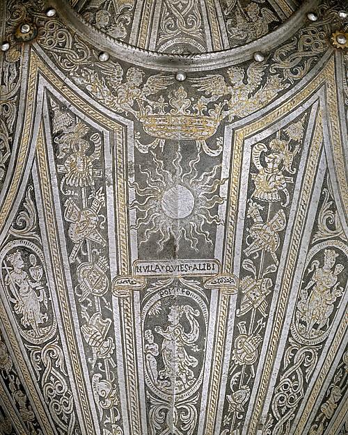 Portions of an Armor for  Vincenzo Luigi di Capua (died 1627)