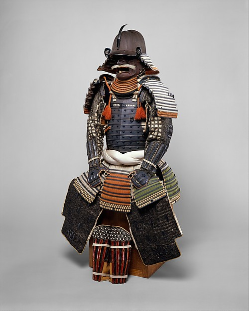 Armor of the Gusoku type