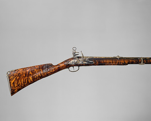 Gun with Flintlock a la moda