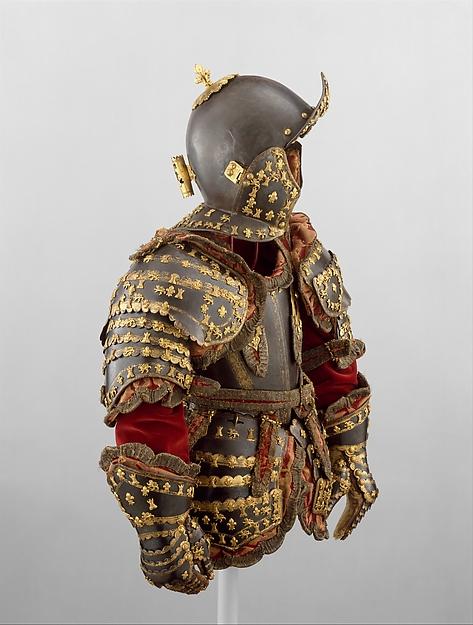 Armor of Infante Luis, Prince of Asturias (1707–1724)