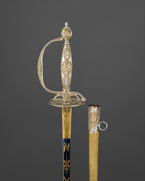 Congressional Presentation Sword with Scabbard of Colonel Marinus Willett (1740–1830)