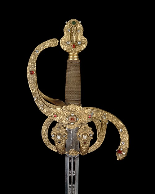 Rapier of Prince-Elector Christian II of Saxony