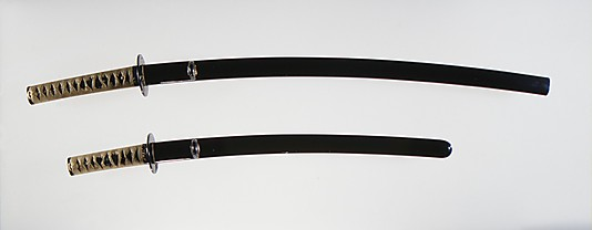 Blades and Mountings for a Pair of Swords (Daishō)