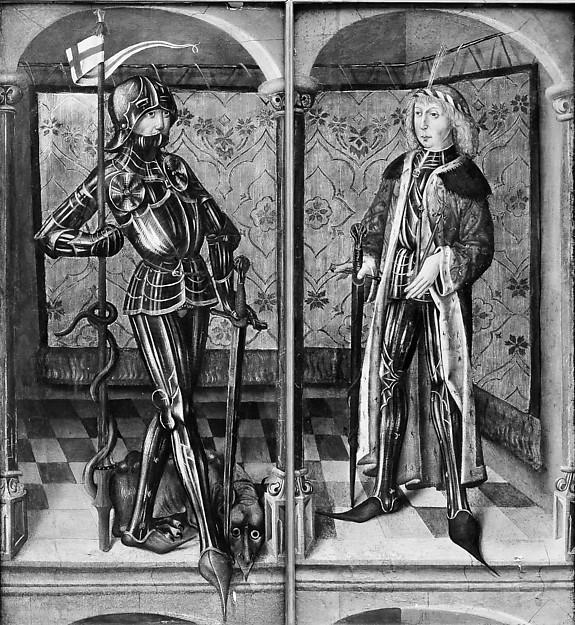 Saint George and Saint Sebastian