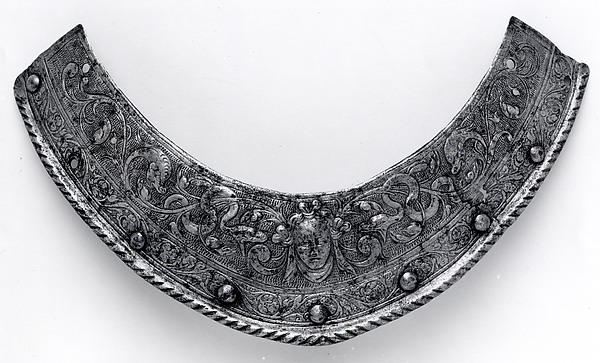Collar Plate for a Helmet of Henry III of France (1551–1589)
