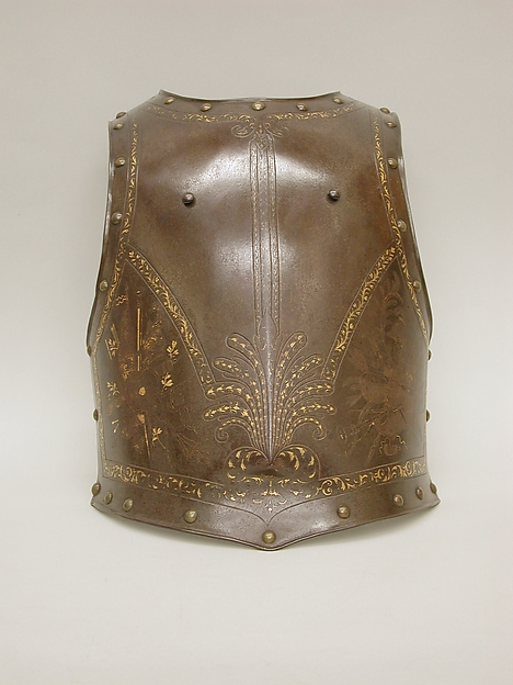 Cuirass (breastplate and backplate)