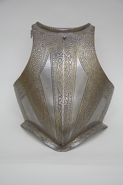 Breastplate from an Armor of Francesco Maria II della Rovere (1548–1631), Duke of Urbino