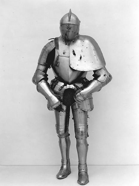 Jousting Armor (Rennzeug)  and Matching Half-Shaffron
