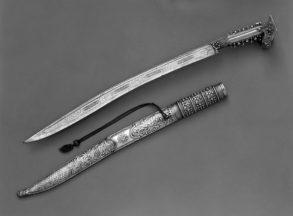 Yatagan with Scabbard