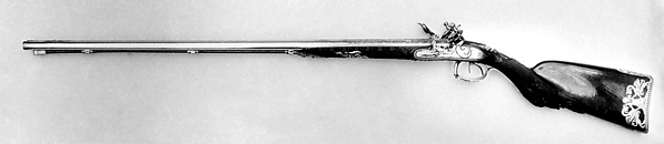 Double-Barreled Flintlock Shotgun