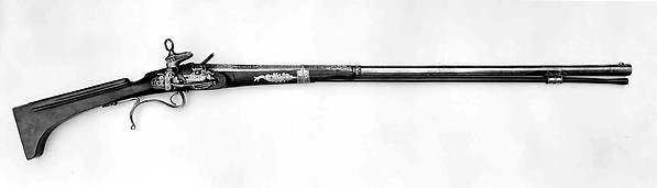 Miquelet Flintlock Gun Made for Charles IV of Spain (reigned 1788–1808)
