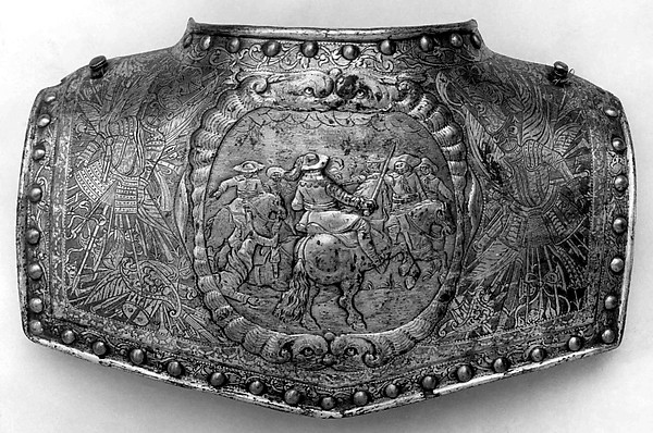 Back Plate of a Gorget