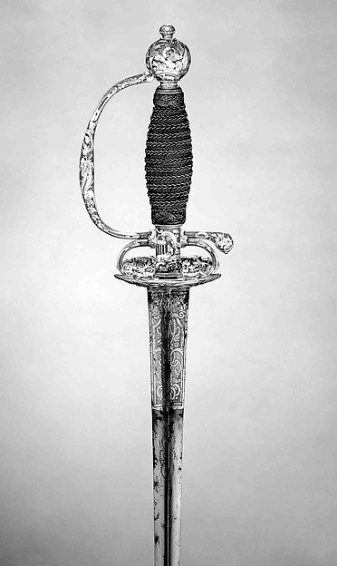 This is What French Strasbourg culture and Smallsword Looked Like  in 1755