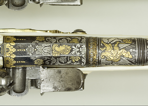 Pair of Flintlock Pistols