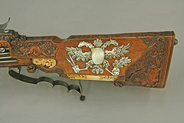 Wheellock Rifle Made for Emperor Leopold I
