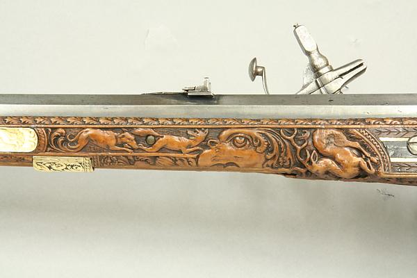 Wheellock Rifle Made for Emperor Leopold I