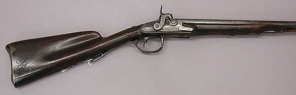 This is What French culture and Double-barreled Shotgun Looked Like  in 1784