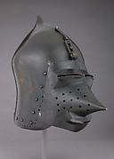 Helmet (Basinet) with Detachable Visor
