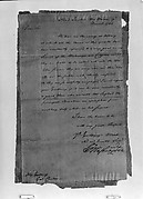 Letter from George Washington to Governor George Clinton