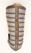 Right Thigh and Knee Defense (Cuisse and Poleyn) for the Armor of Sir John  Scudamore (1541 or 1542–1623)