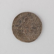Coin (Thaler, Annaberg) Showing Maurice, Duke and Elector of Saxony