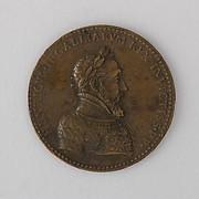 Medal Showing Henry II of France