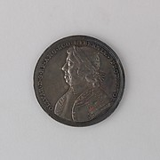Medal Showing the Death of Cromwell, 1658