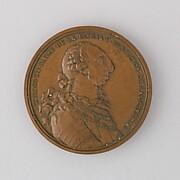 Medal Showing Charles III of Spain, 1778