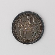 Coin (One and a Half Thaler) Showing Ferdinand I