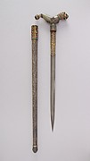 "Crutch Dagger (Zafar Takieh, ""Cushion of Victory"") with Sheath"