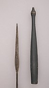 Blowpipe with Sheath and Case (Tolor) of Arrows (Langa)