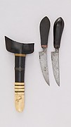 Pair of Knives with Sheath