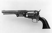 Colt Dragoon Percussion Revolver, Third Model, serial no. 12403