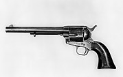 """Peacemaker"" Colt Single-Action Army Revolver, serial no. 4519"