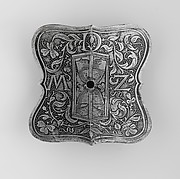 Escutcheon Plate with the Device of Ottheinrich, Count Palatine of the Rhine